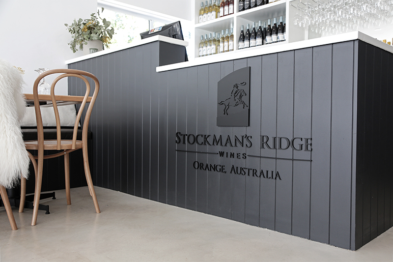 One x One Interiors Stockman's Ridge Cellar Door Interior Design Orange NSW 8