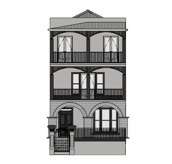 Designer Takes on The Block 2019_cad facade
