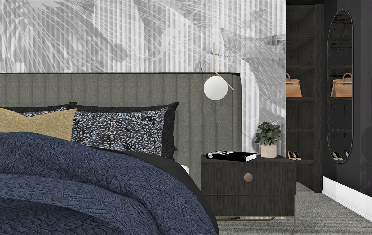 Week Three Master Bedroom Reveal. Designer Takes on The Block 2019