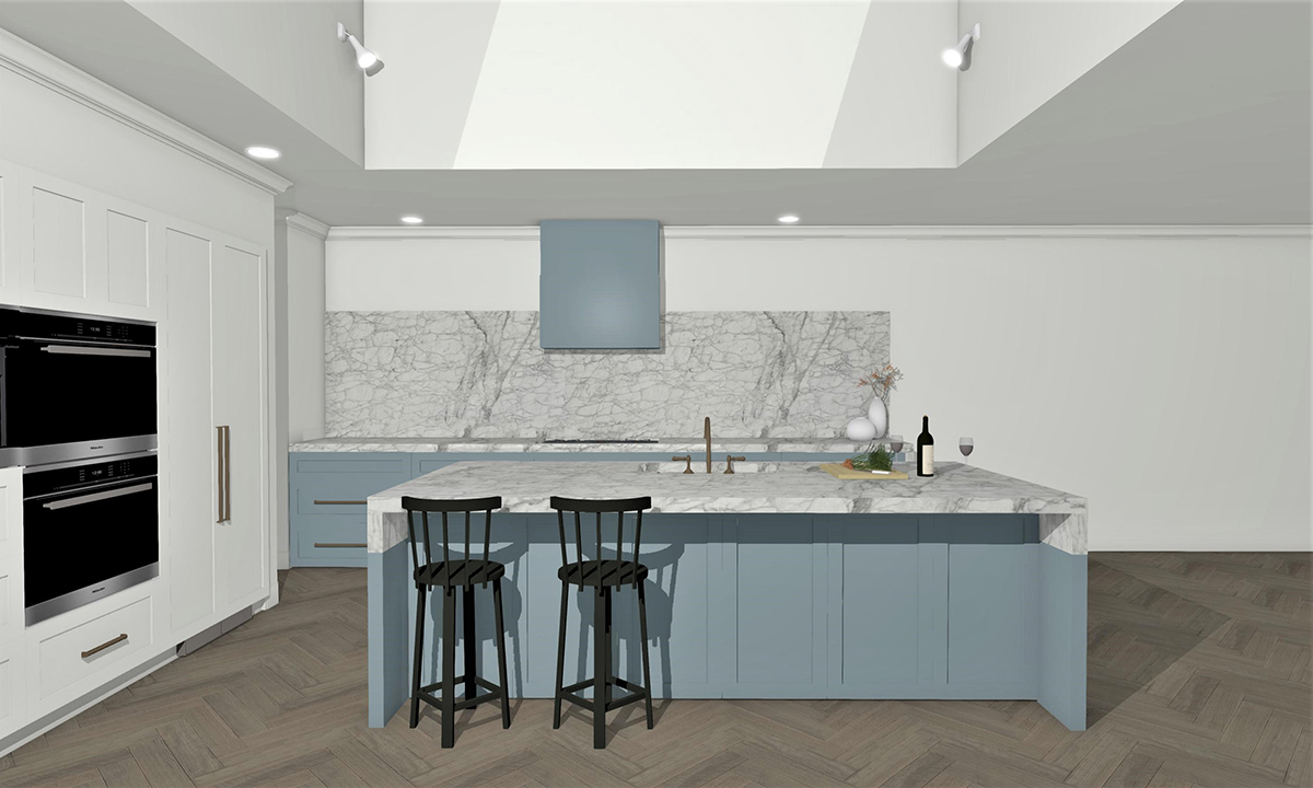 Week Seven Kitchen Reveal. Designer Takes on The Block 2019_one x one interiors